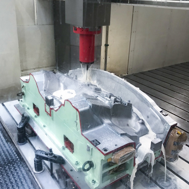 Milling on TAURUS in Poland